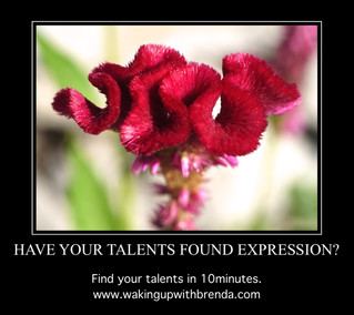 Blossoming Your Talents