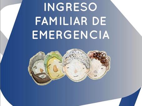 INGRESO FAMILIAR DE EMERGENCIA (IFE)