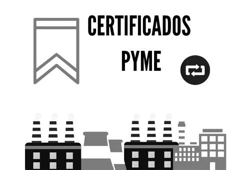 Certificado MiPyme: Preguntas frecuentes
