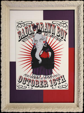 Badly Drawn Boy poster