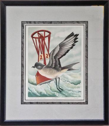Flight of the Petrel by Yvonne Davis