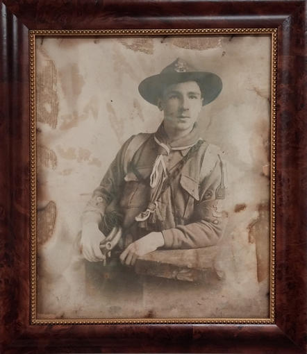 Unknown, WWI Boyscout