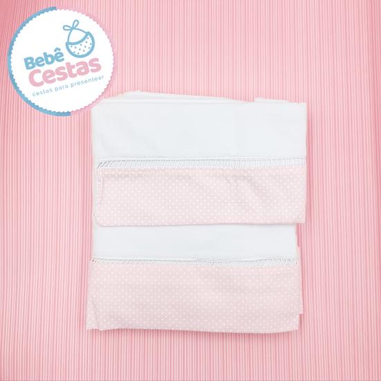 Jogo de lençol para Mini Berço