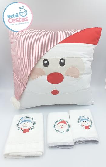 Kit Natal Papai Noel com 4 peças