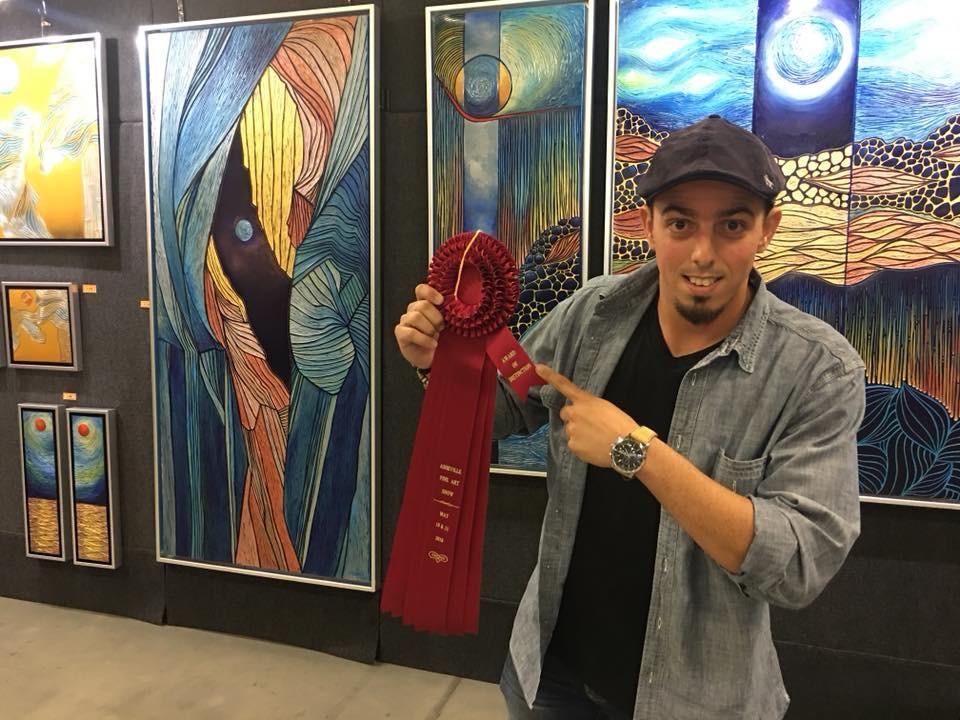 Asheville Fine Art Show, 2018