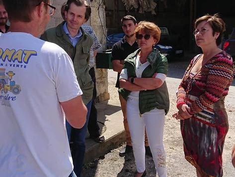 Venue de Angélique Delahaye, députée européenne