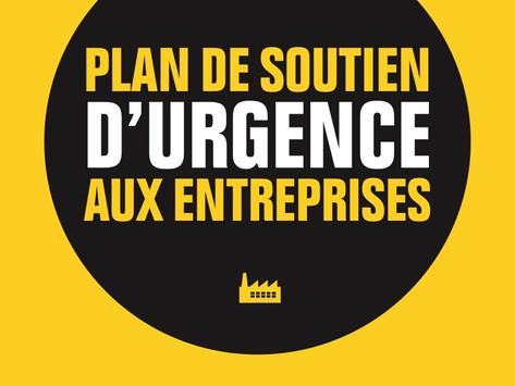 Plan de soutien d'urgence pour les entreprises (COVID-19)