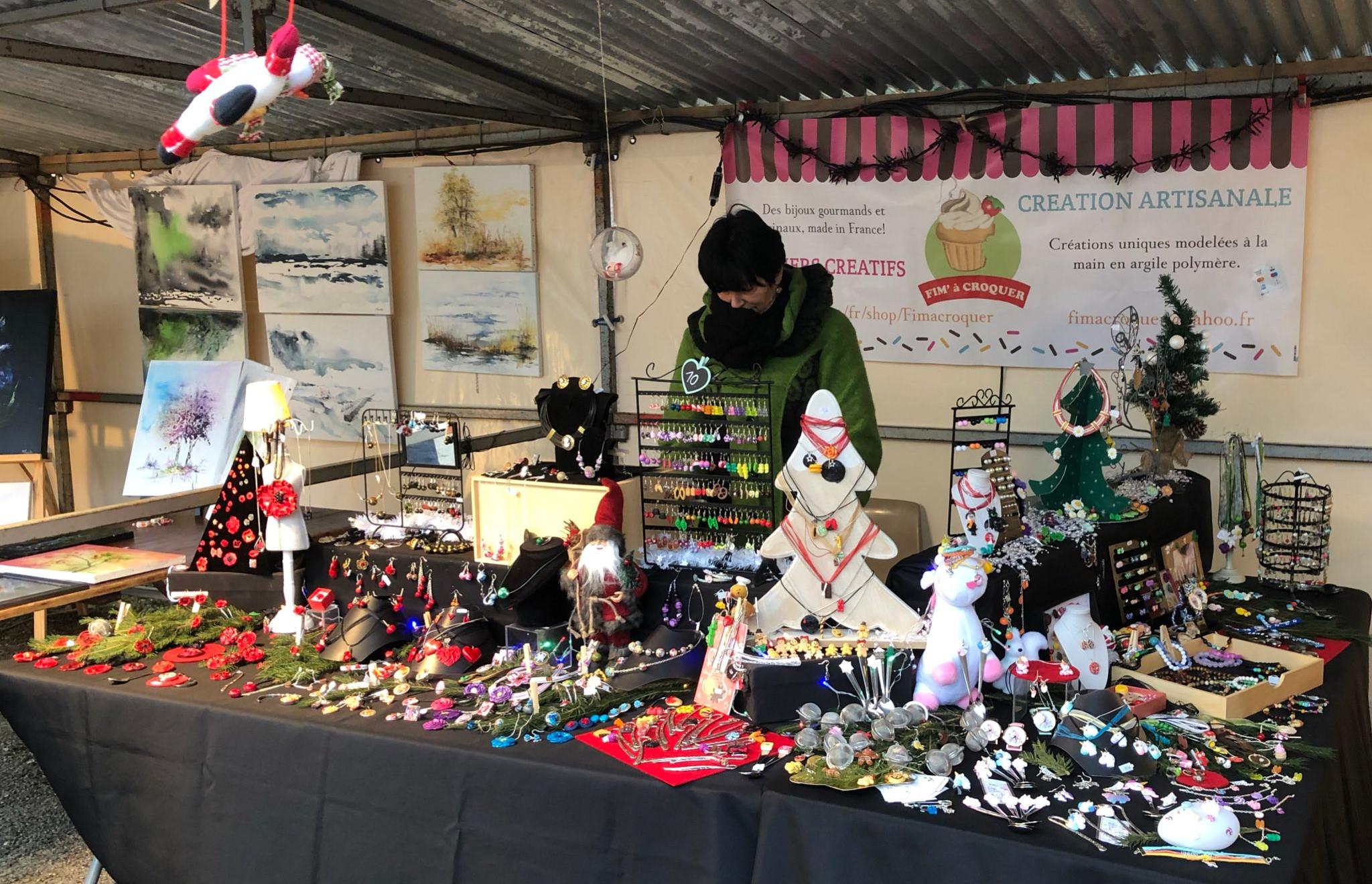 Marché de Noel d'Argenteuil-sur-Armançon, le 9 décembre