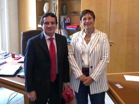 Rencontre avec Paul Yunta, nouveau DDFIP de l'Yonne