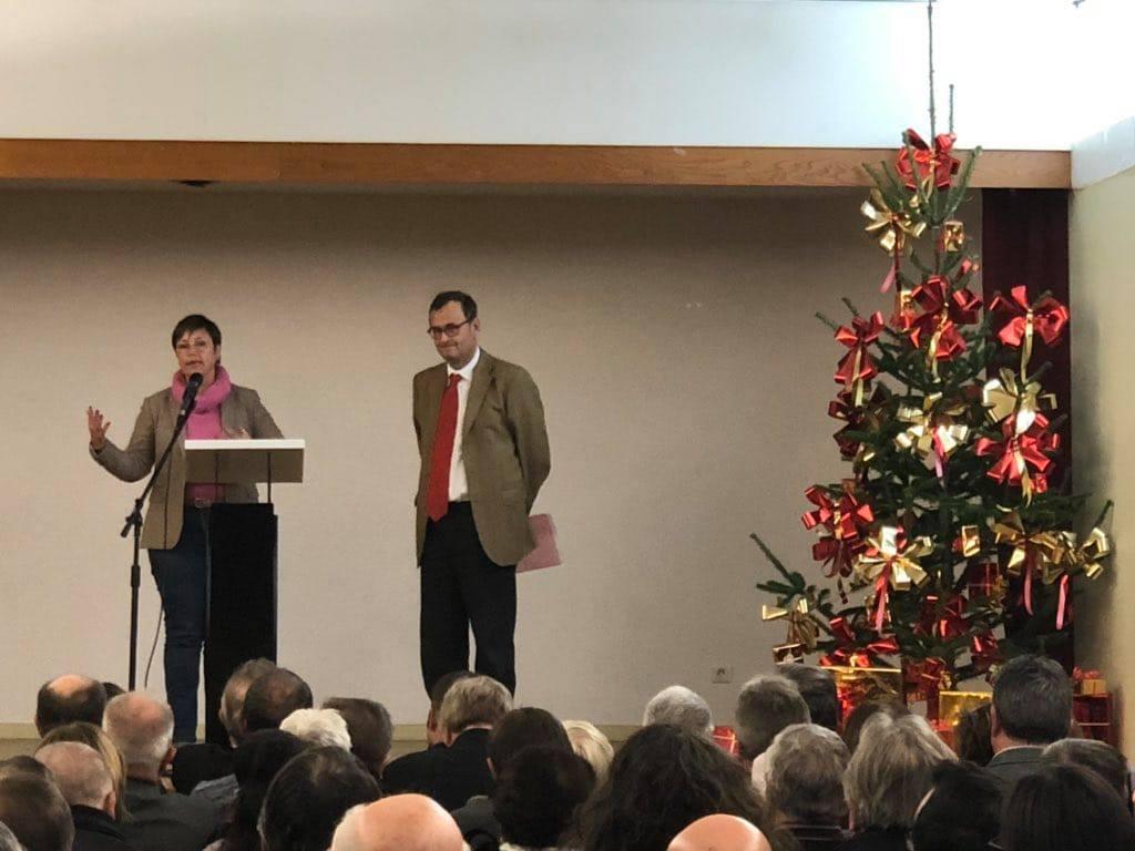 Voeux de la Communauté de communes de Puisaye-Forterre, le 8 janvier