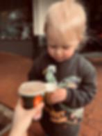 Toddler with Babycino.JPG