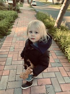 toddler going for a walk.JPG