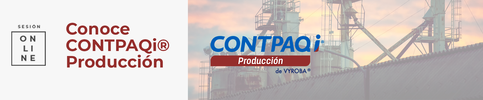 Presentación CONTPAQi® Producción 22 agosto 2019