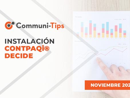 Instalación CONTPAQi® Decide
