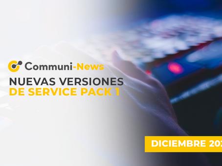 Nuevas versiones de Service Pack 1