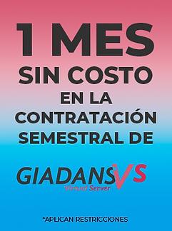Mini Promo GIADANSVs Semestral Sep 2020.