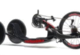 Handbike de compétition carbonbike modèle revox33