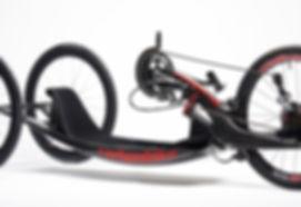handbike de compétition carbonbike modèle revox