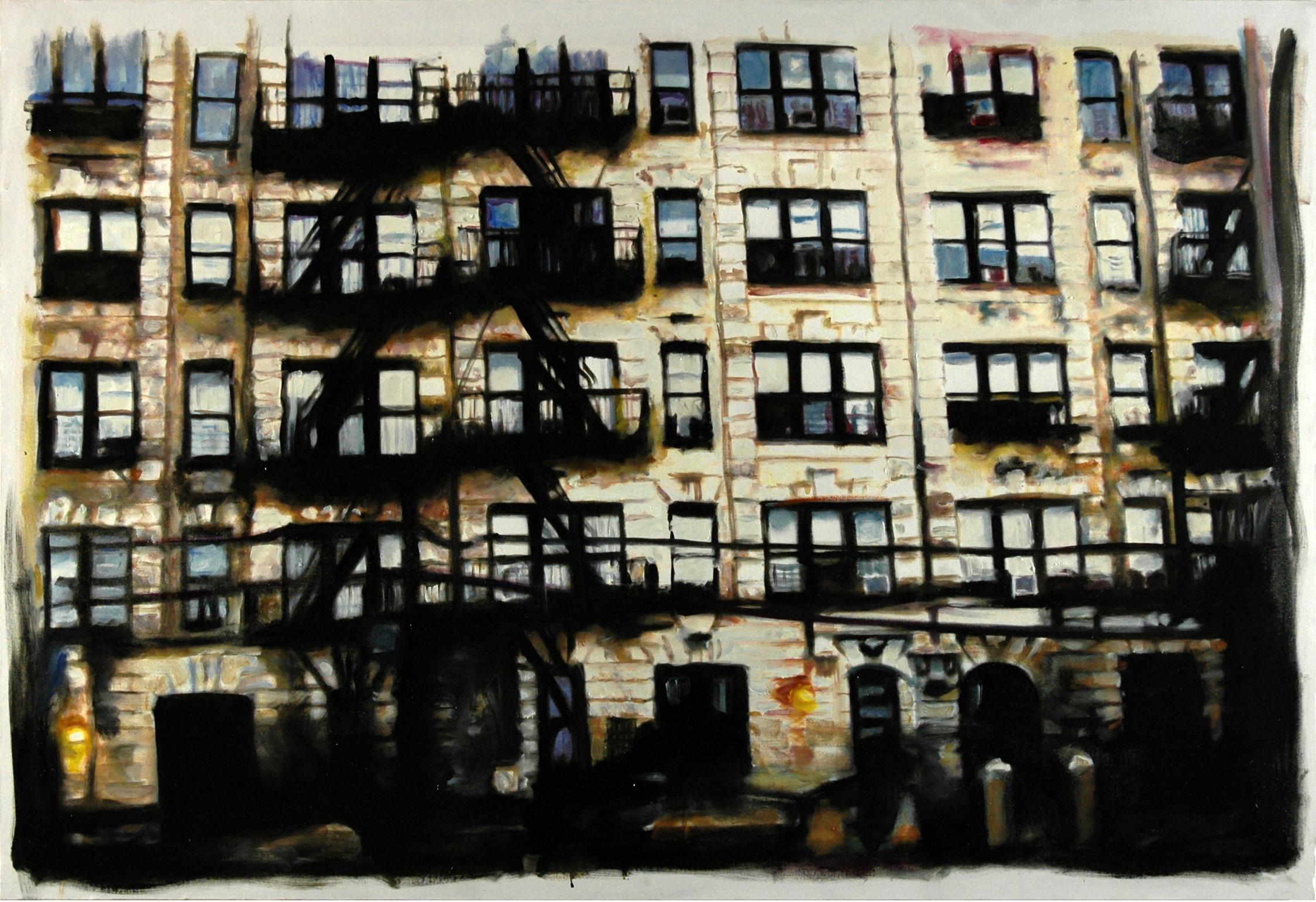 NY Facades Blanches