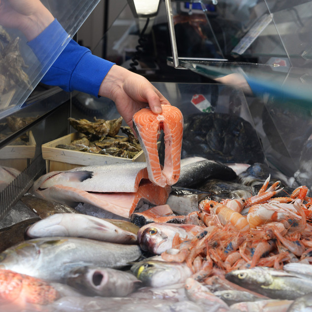 La tua pescheria di fiducia in zona Garbatella Tormarancia Montagnola per vivere il meglio del mare anche in piena città!