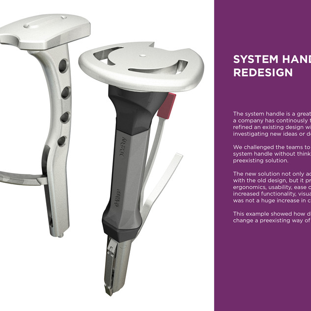 Redesigned System Handle