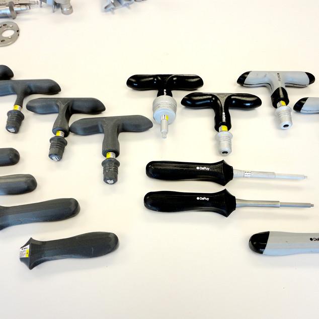 SLA Prototypes of Handle Sizes