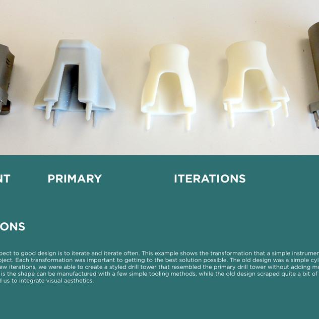Drill Tower Design Evolution