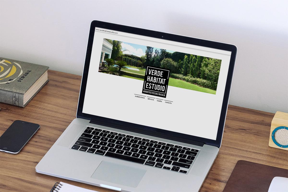 Sitio web Verde Habitat Estudio