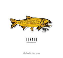 Ilustración Dorado