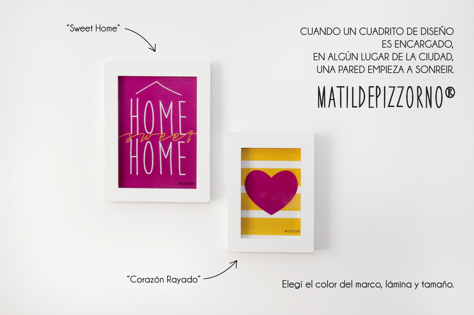 Sweet Home, Corazón Rayado
