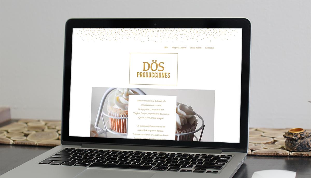 Sitio Web Dös Producciones