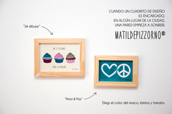 Cupcakes, Paz&Amor