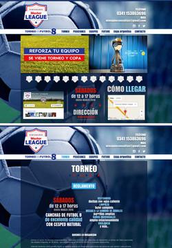 Sitio web Torneo Master League