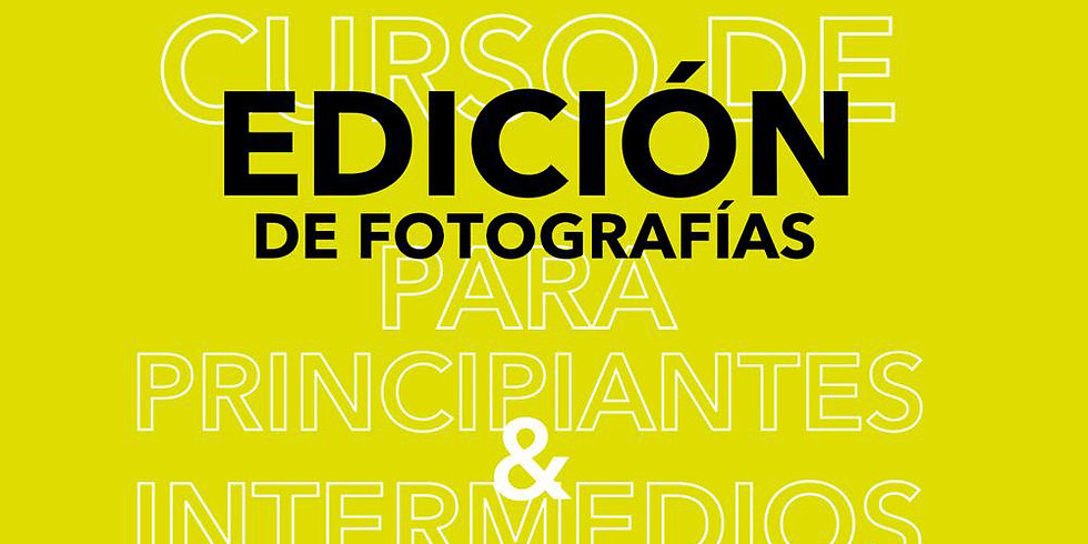 curso EDICIÓN DE FOTOGRAFÍAS / MARTES 24 DE JULIO