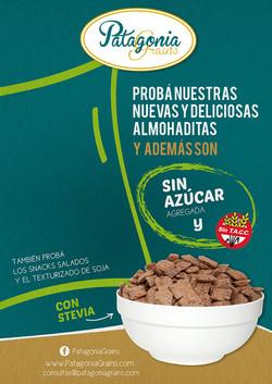 Nuevos flyers para Patagonia Grains
