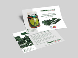 Folleto Hydro Farming. Spirulina