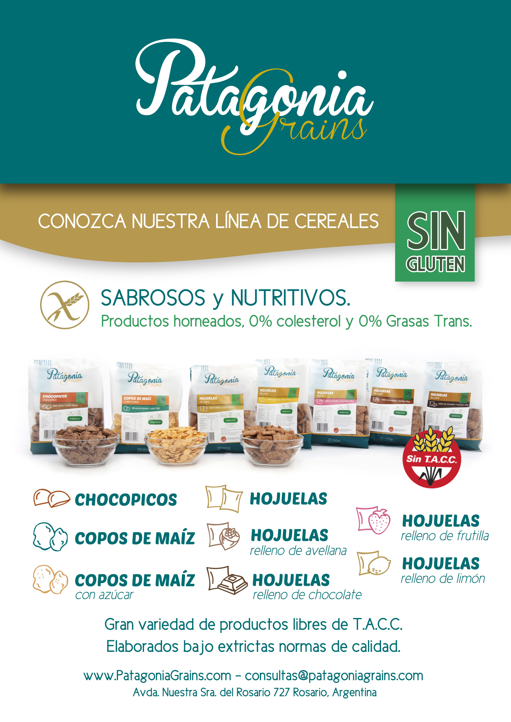 Patagonia Grains Cereales