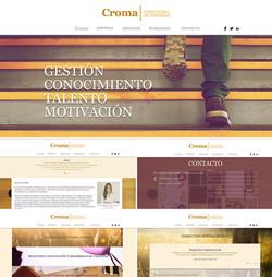 Sitio Web Croma Consultora