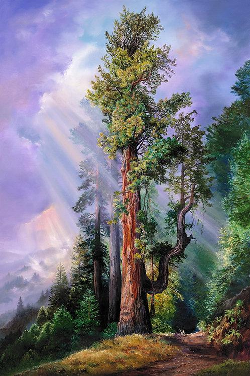 Hobbit Tree with Deer