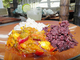 Brazilian seafood soup (Moqueca de fruit