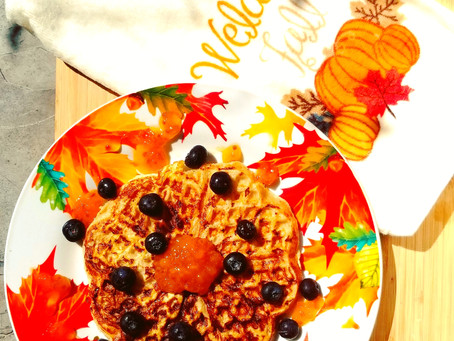 Falling in Love with Fall - Week 1 - Waffle Iron French Toast