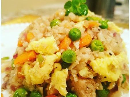 Let it snow - Week 2 - Cauliflower Fried Rice