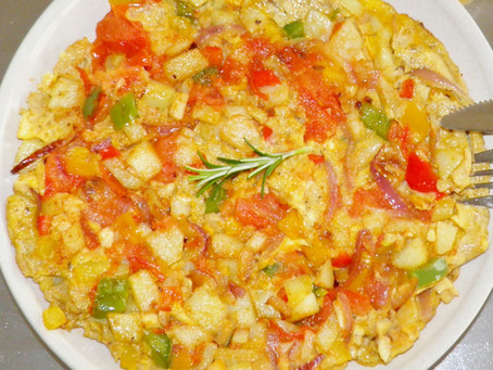 Spring and Brunch - Week 2- Spanish Omelet - Spain