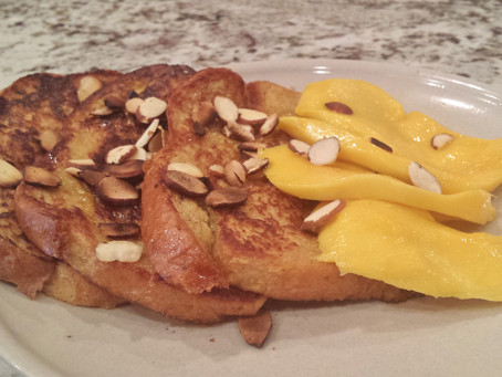 Spring and Brunch - Week 3 - Cardamom French Toast - India Inspired