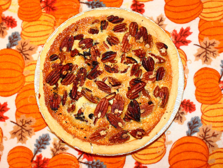 Falling in love with Fall - Week 2 - Bourbon Pecan Pie