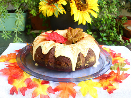 Falling in love with Fall - Week 3 - Pumpkin Spice Cake