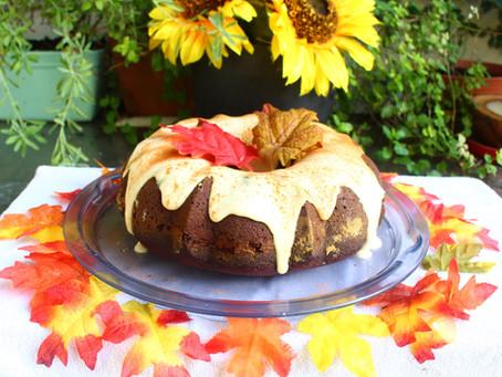 Falling in love with Fall - Week 3 - Pumpkin Spice Cake