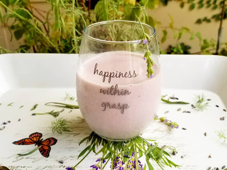 Loving Lavender - Week 2 - Lavender Nice Cream