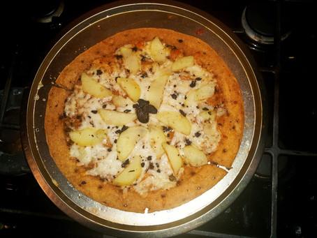 Treasured Truffles - Week 1 - Truffle and Potato Pizza