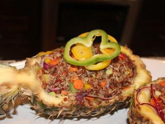 Island Inspiration - Week 2 - Pineapple Fried Rice